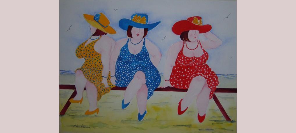 Drie dikke dames