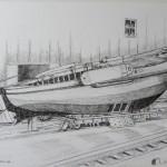De scheepswerf